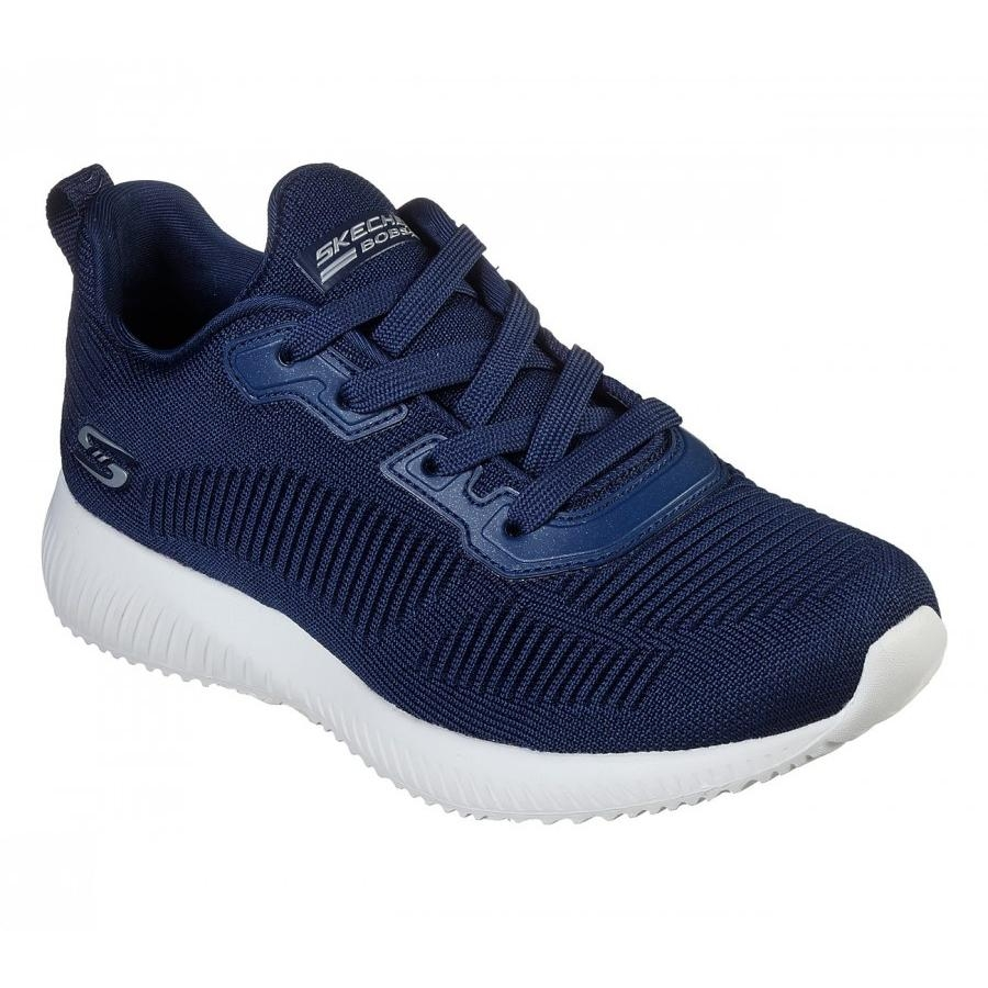 Bobs Squad Tought Talk Navy  - Skechers