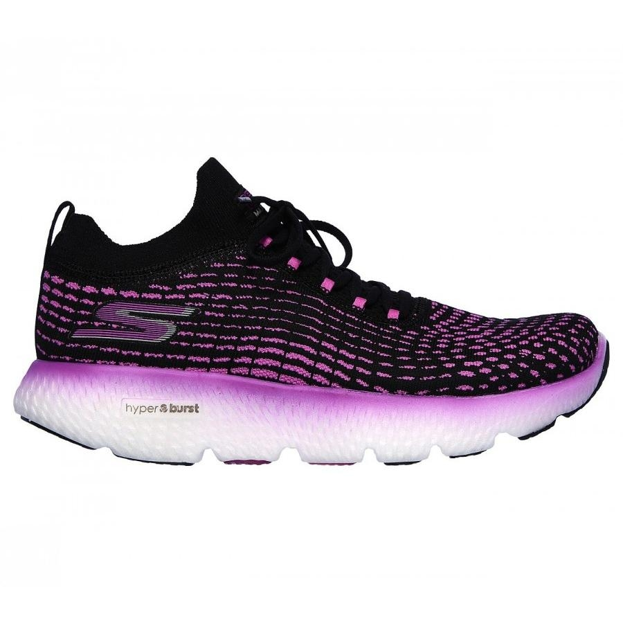 Go Run Max Road 4 Black Purple  - Skechers